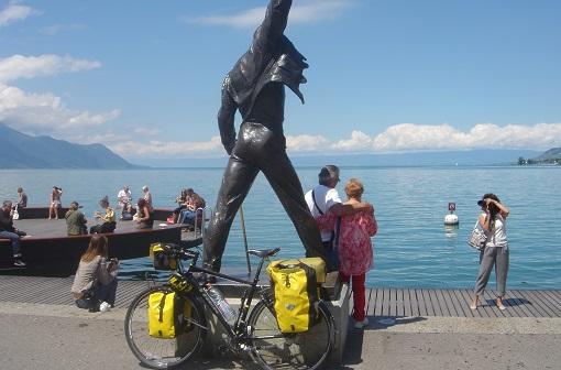 のんびり歩くヨーロッパ        wandering in europe by huck  モントルー