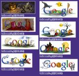 "Googleの""clickortreatX.gif"""