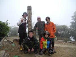 大山登山110521