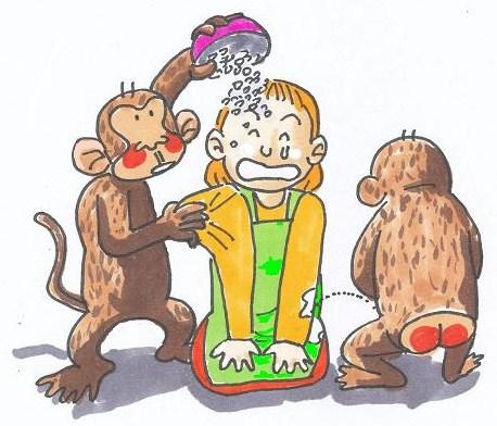猿の意思を尊重