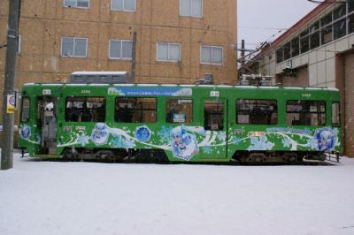 雪ミク電車3