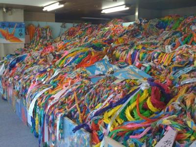 折り鶴展示室