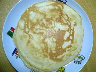 料理 2009年11月12日 ホットケーキ2