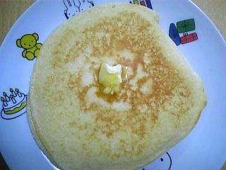 料理 2009年11月12日 ホットケーキ1