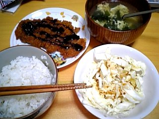 料理 2009年11月27日 晩ご飯