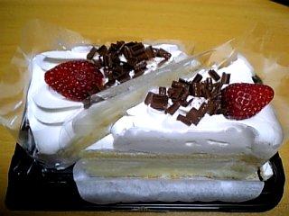 食べ物 2009年12月14日 ショートケーキ