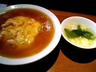 食べ物 2009年12月31日 天津飯