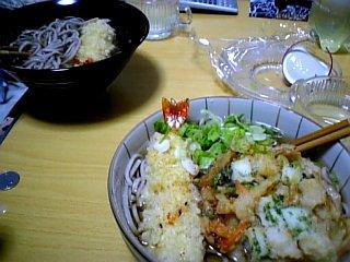 料理 2010年1月1日 年越しそば