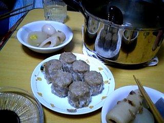 食べ物 2009年12月31日 晩ご飯