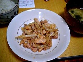 料理 2009年1月 晩ご飯