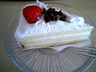 食べ物 2010年1月23日 ショートケーキ