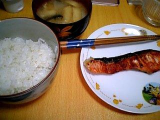 料理 2010年2月2日 焼き鮭