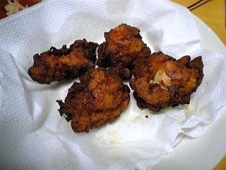 料理 2010年2月9日 鶏のから揚げ1