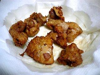 料理 2010年2月9日 鶏のから揚げ2