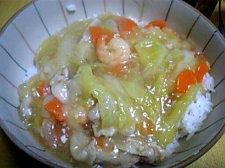 料理 2010年2月13日 中華丼