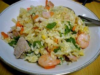 料理 2010年2月12日 海老炒飯