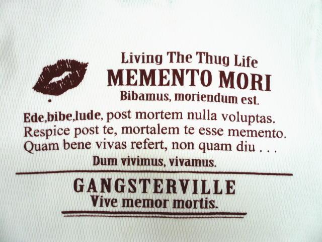 GANGSTERVILLE MEMENTO MORI