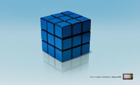 Routon GPS_Rubik Cube