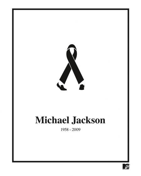 Michael Jackson MTV Black Ribbon