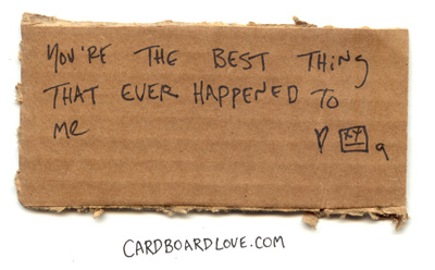 Cardboard Love_bestthing