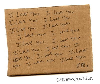 Cardboard Love_freakout