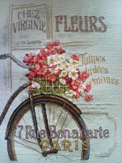 Parisian Bicycle 完成