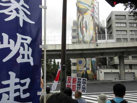 10月3日の抗議活動