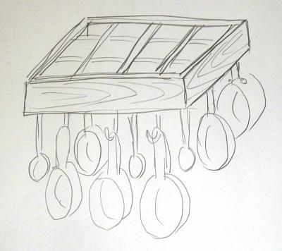 鍋掛けイメージ