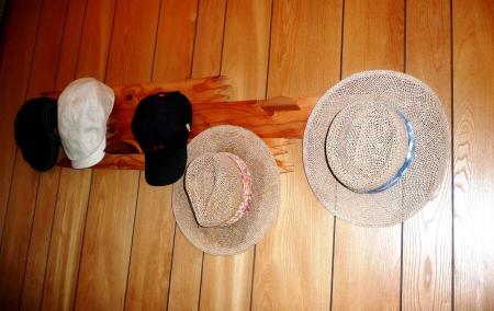帽子掛け完2
