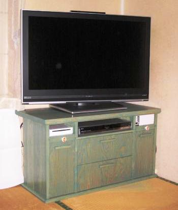 TV台自宅