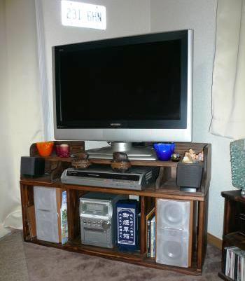 TV台コーナー型