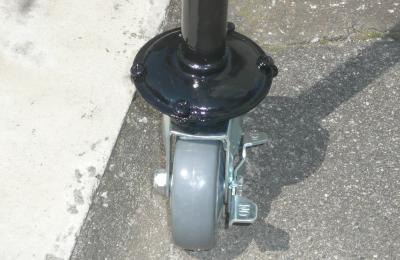 ストッパー付き車輪