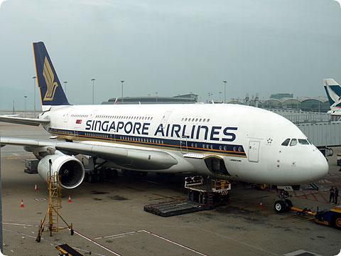 エアバスA380 シンガポール航空