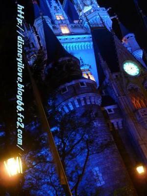 シンデレラ城夜景