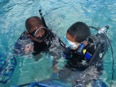 体験ダイビング カケロマ