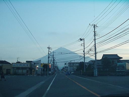 富士山近づくup