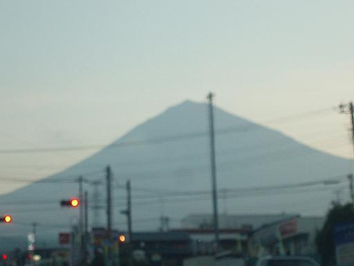 富士山朝1up