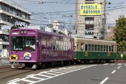 西大路三条~西院間(2011.8.13)