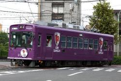 西大路三条~山ノ内間(2011.8.13)