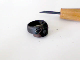 ドクロ指輪