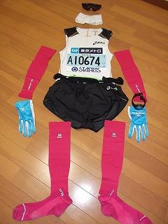 東京マラソン2012はピンクで決まり