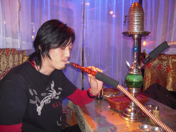 みずたばこたー