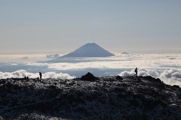 富士 間ノ岳より