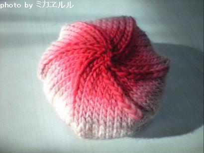 09.10ブラ子ニットベレー帽CA390731