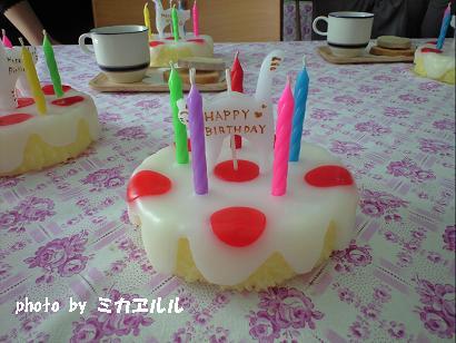 09.12ホールケーキキャンドルCA390809