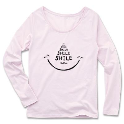 SMILE 笑顔 文字 スマイル Tシャツ