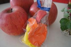 りんごと風船