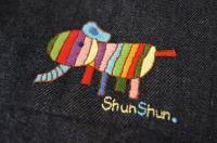 エルマーの刺繍