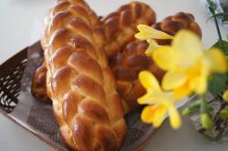 三つ編みパン