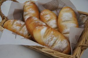 ランチ 米粉パン
